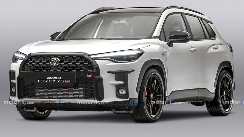 Así sería el Toyota Corolla Cross Gazoo Racing Sport