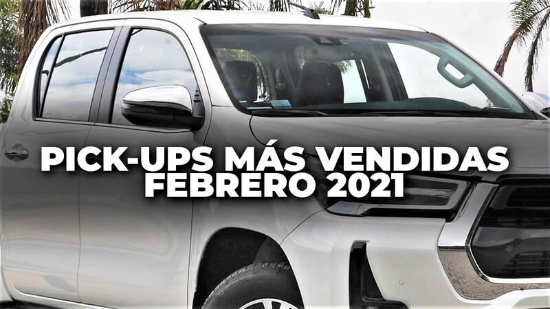 Pick-ups más vendidas en Colombia en febrero de 2021