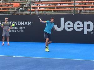 Jeep junto al tenis argentino