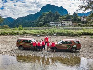 Land Rover Discovery da la vuelta al mundo en sólo 70 días