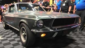 Venden Mustang de la película Bullitt en 3,4 millones de dólares