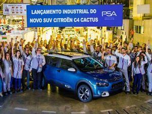 Citroën fabrica el C4 Cactus regional en Brasil