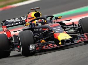 F1 2018: Ricciardo picó en punta en el primer entrenamiento
