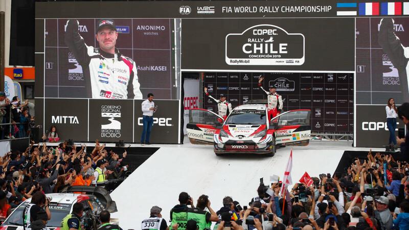 WRC 2021: Chile vuelve a aparecer en el calendario