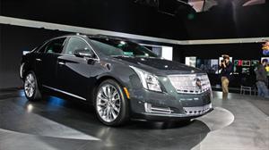 Cadillac XTS 2013 debuta en el Salón de Los Angeles
