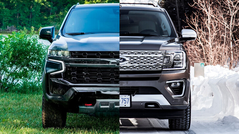 Ford Expedition vs Chevrolet Suburban, ¿cuál es la mejor?