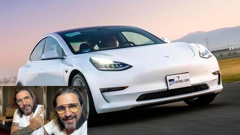 ¡Mala gente! Juanes padeció los desarrollos tecnológicos de Tesla