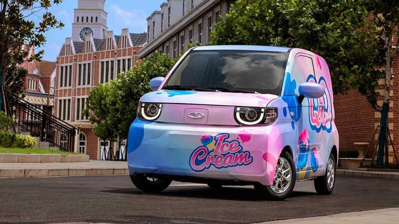 ¿Qué te hicieron? El nuevo Chery QQ es un SUV eléctrico y helado