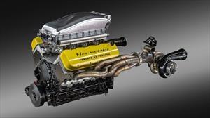 Conoce el motor V8 que supera los 1.800 caballos de potencia