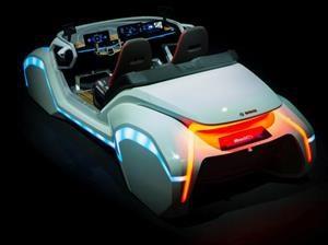 Bosch presente en el CES 2017 con un concepto futurista