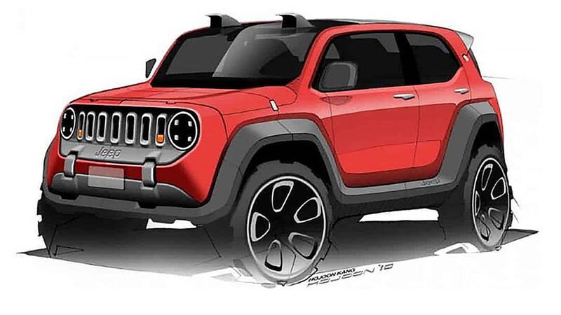 Jeep prepara un modelo eléctrico más chico que el Renegade