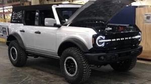 Primeras imágenes espía del Ford Bronco