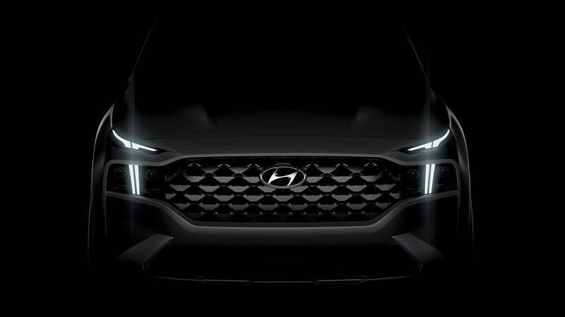 Hyundai revela el primer teaser oficial de la nueva Santa Fe