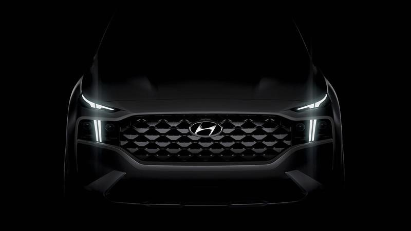 Hyundai deja entrever a la Santa Fe 2021