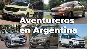 Todos los modelos aventureros que se venden en Argentina