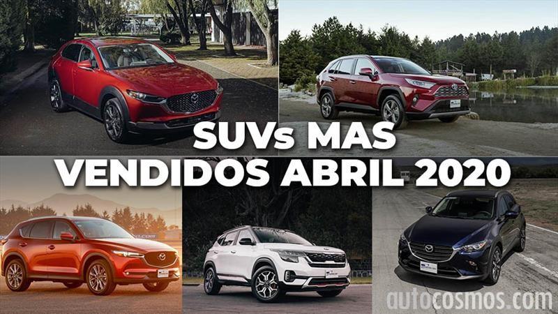 Los 10 SUVs más vendidos en abril 2020