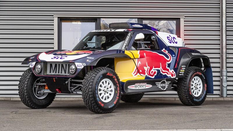 MINI JCW Buggy: el poderoso auto de carreras para el Rally Dakar 2021