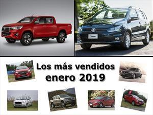 Top 10: Los modelos de autos más vendidos en enero de 2019