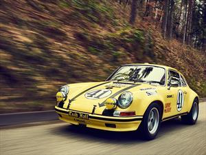 Porsche restaura un extraño 911 2.5 S/T 1972