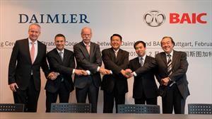 Daimler busca incrementar su participación en BAIC