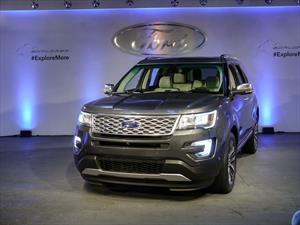 Ford Explorer 2016: Debuta en el Salón de Los Angeles
