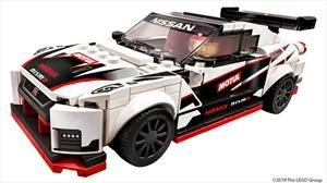 Este atractivo Nissan GT-R Nismo es la nueva creación de LEGO