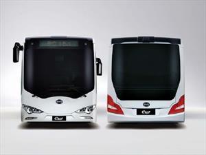Así podrían ser los autobuses que reemplacen a los microbuses en la CDMX