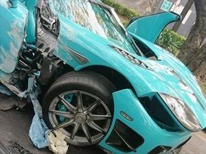Destruyen un Koenigsegg CCXR Special One en México