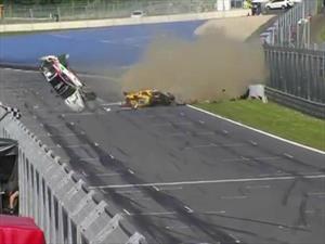 Video: Espectacular accidente en la GT4 European Series