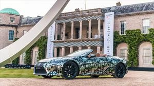Lexus LC Convertible, se confirma su llegada a las líneas de producción