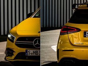 Mercedes-AMG A35, primeras imágenes previo a su debut oficial