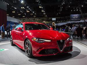 Alfa Romeo Giulia 2017: listo para el mercado norteamericano