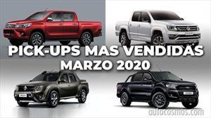 Top 10: Las pick-ups más vendidas de Argentina en marzo de 2020