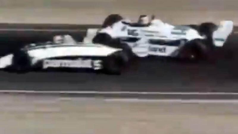 F1: Video inédito del toque que complicó a Reutemann en Las Vegas