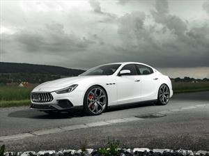 Novitec le saca brillo al V6 del Maserati Ghibli