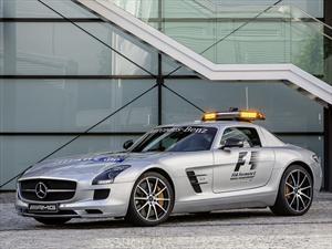 F1: Mercedes-Benz SLS AMG GT es el nuevo Pace Car
