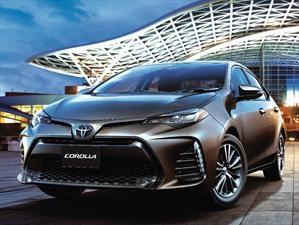 Toyota Corolla 2017 recibe facelift de aniversario desde $10.490.000