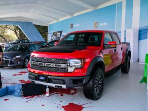Ford Lobo Raptor SVT 2014 se presenta en el XXVII Gran Concurso Internacional de la Elegancia