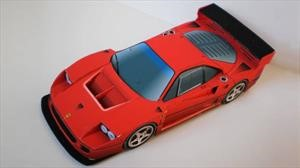 Construí con papel los autos a escala que siempre quisiste tener