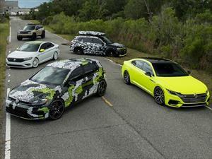 Volkswagen tunea 5 carros para el SoWo 2018
