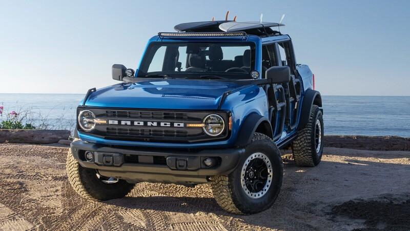 Ford Bronco Riptide Concept, un SUV con tuning de fábrica