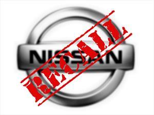 Recall de Nissan a 34,000 unidades