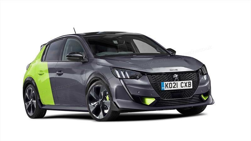 Peugeot e-208 Sport, así podría ser el próximo hot hatch electrificado