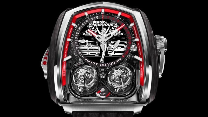 Rápidos y Furiosos inspira reloj que cuesta 580.000 dólares