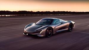 McLaren Speedtail acelera hasta los 403 km/h