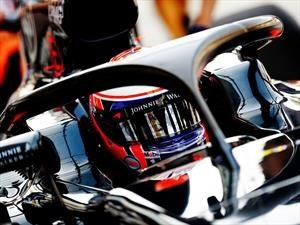 La F1 adoptará el sistema Halo para 2018
