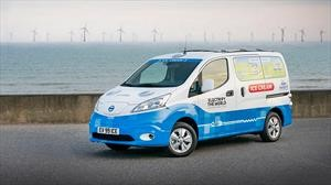 Nissan e-NV200 se vuelve camión de helados del futuro
