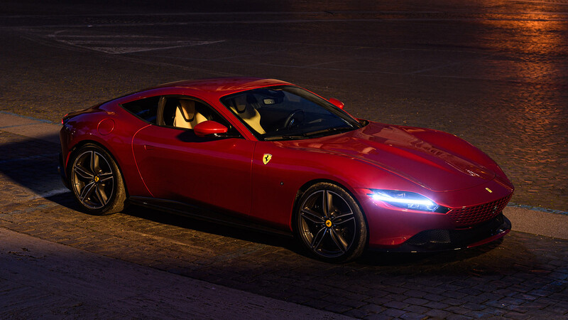 Ferrari Roma, la nuova dolce vita se deja caer en Chile