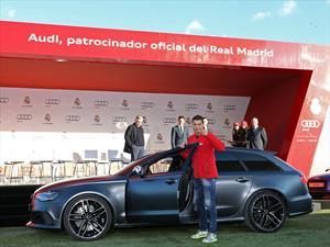 Audi adelanta la Navidad para los jugadores del Real Madrid