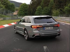 Audi RS4 Avant conquista Nürburgring